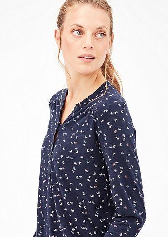 Туника-рубашка с повторяющийся узор