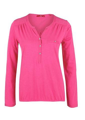 Блузка-рубашка в Slub Yarn-Design