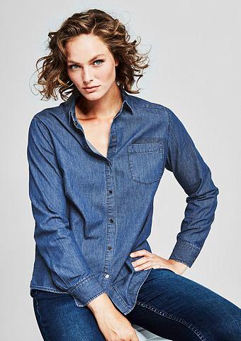 Рубашка джинсовая с заклепки
