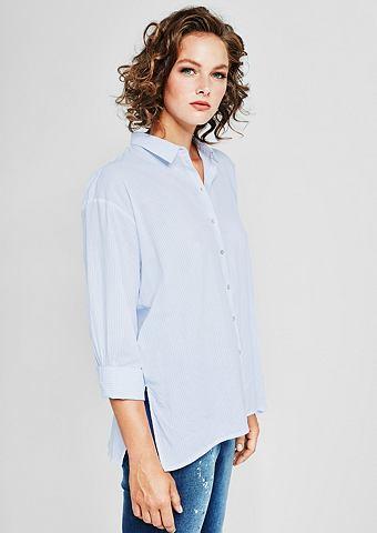 Деликатный блуза с декоративный Streif...