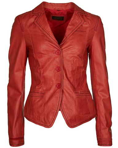 Пиджак кожаный с карман »Mae&laq...