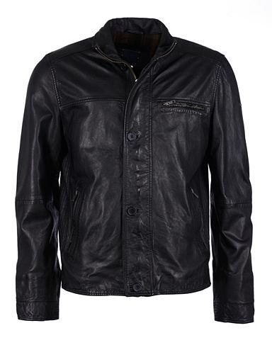 Куртка кожаная с warmem Polyesterfutte...