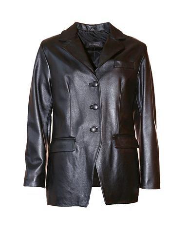 JCC Пиджак кожаный для женсщин Glibu