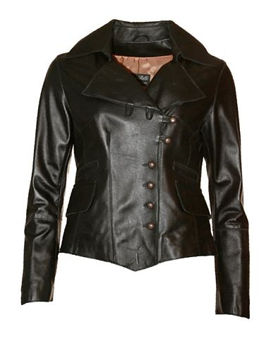 Куртка кожаная с воротник »Tagli...