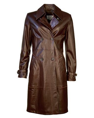 Пальто кожаное для женсщин Deborah