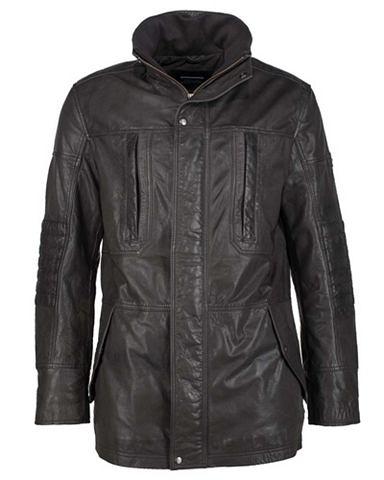 Пальто кожаное с warmer Wattierung &ra...