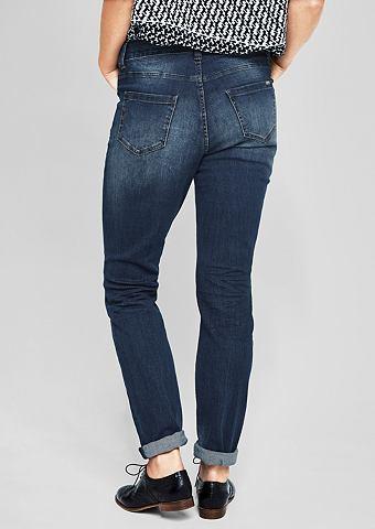 Curvy Extra Зауженные Dunkle джинсы