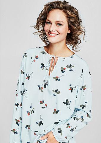 Блузка с цветочный узор