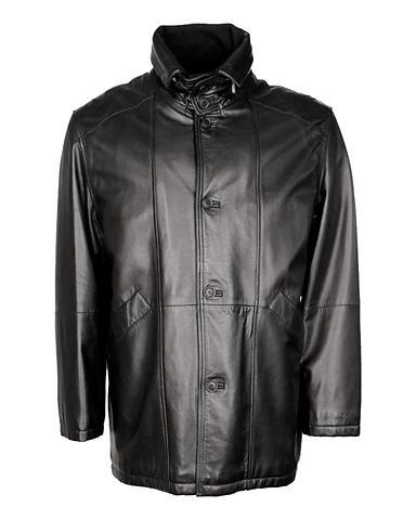 Длинная кожаная куртка Herren AG260
