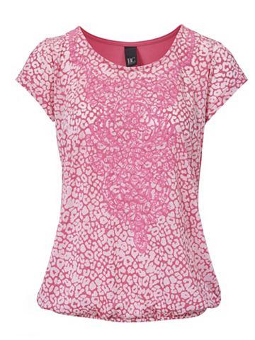 Блуза с круглым вырезом с Effekt-Print...