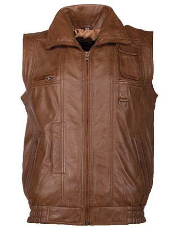 Жилет кожаный »Big Vest2«