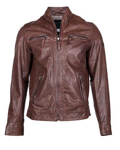 Куртка кожаная с reichlich место для х...