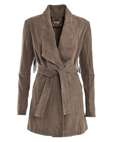 Пальто кожаное »Carpina«