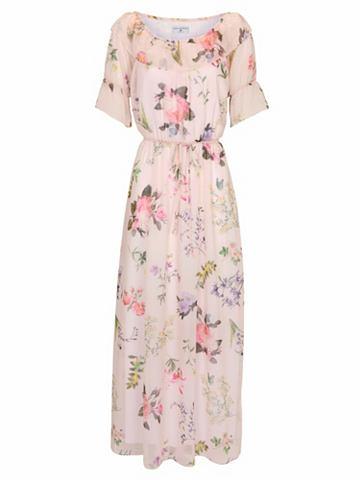 Платье с вырез в испанском стиле
