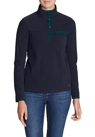Quest Флисовий пуловер с Druckknopflei...
