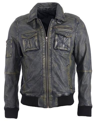 Куртка кожаная »Karlstad«