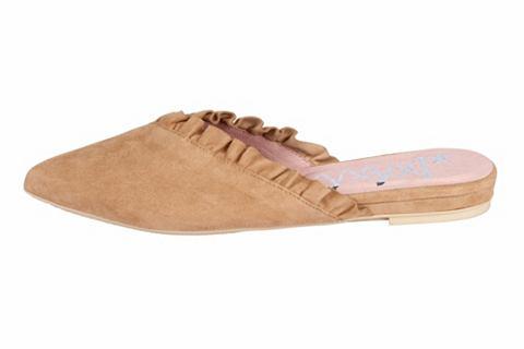 Туфли с окантовка