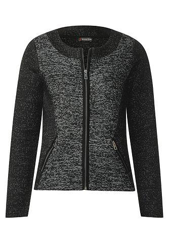 Куртка с Zipper Leni