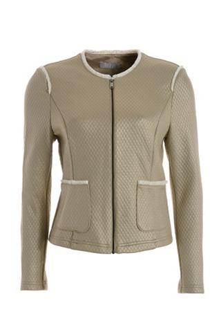 Куртка короткая с Fransendetails