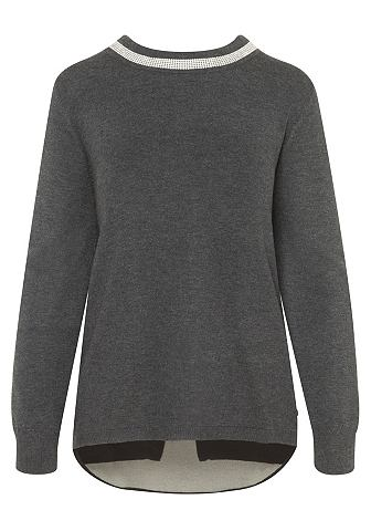 Festlicher пуловер с страз
