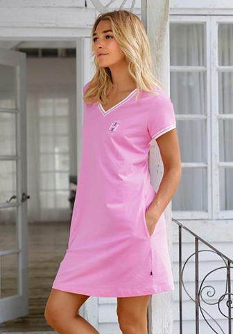 Рубашка ночная с gestreiften Rippb&uum...