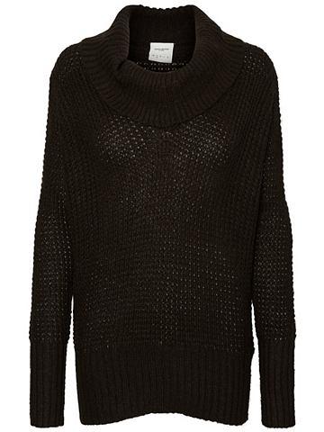 Длинными рукавами пуловер трикотажный