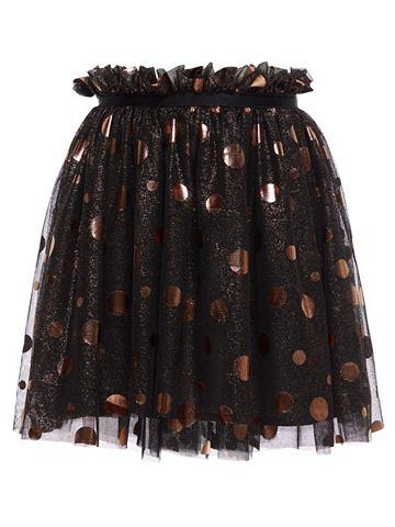 Пятнистый Tüll юбка