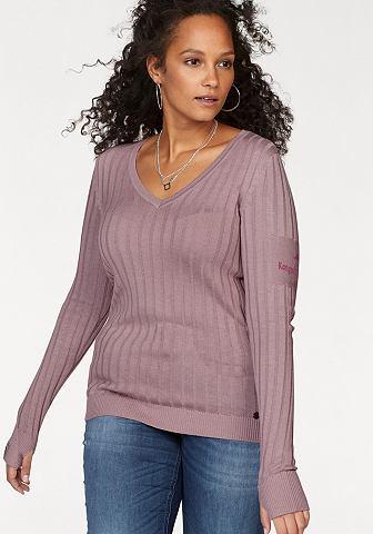 Kanga ROOS пуловер с V-образным вырезо...