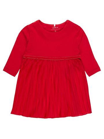 Плиссированные ральфлоры платье