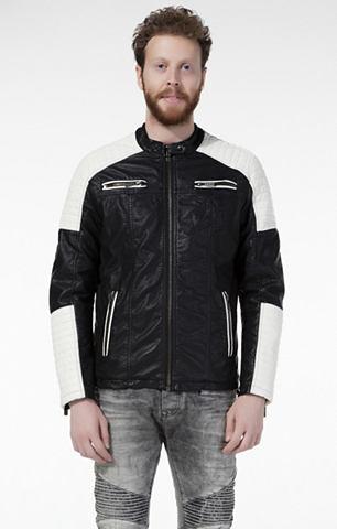 Herren байкерские куртка с замок