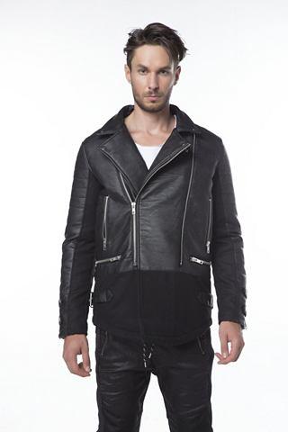 Herren куртка из искуственная кожа