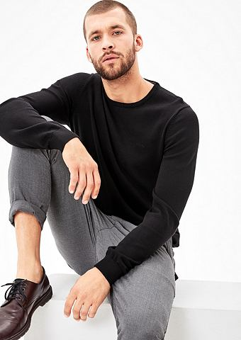 Пуловер из Feinstrick