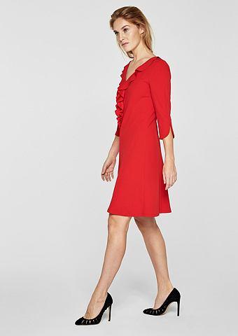 Платье с Volant-Ausschnitt