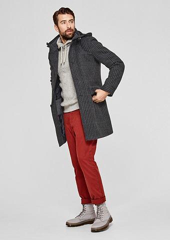 Шерстяное пальто с Wattierung