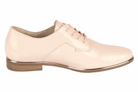 Туфли на шнуровке из Lackleder