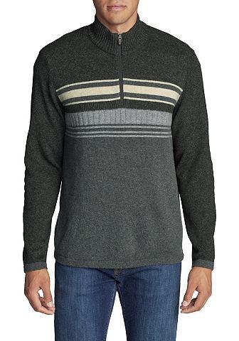 Sidecut пуловер с 1/4-Reißversch...