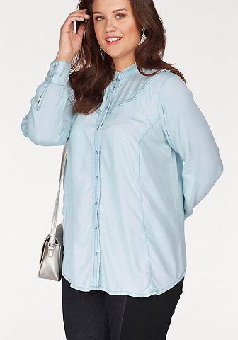 ZIZZI Джинсовая блузка »Monte«