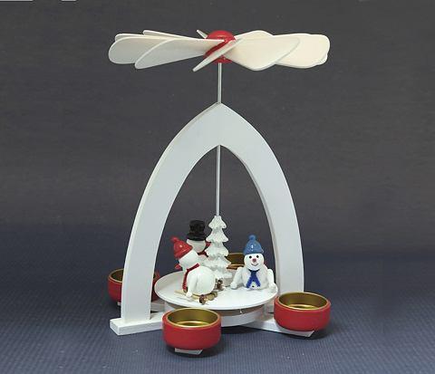 Pyramide для vier Teelichte Winter