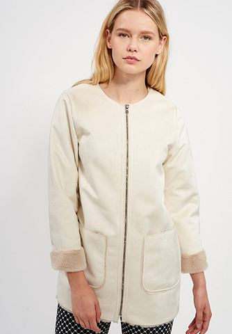 MEXX Пальто из искусственной кожи