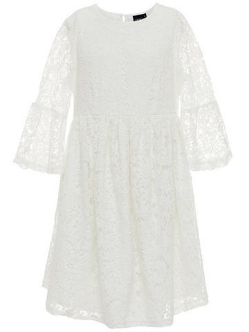 3/4 длина рукава Spitzen платье