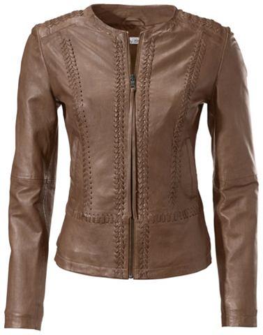 HEINE TIMELESS куртка кожаная в Kurzform