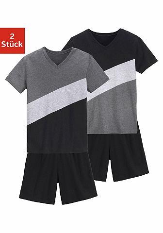Пижамы короткая (2 единицы