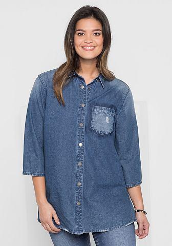 Sheego джинсы блузка