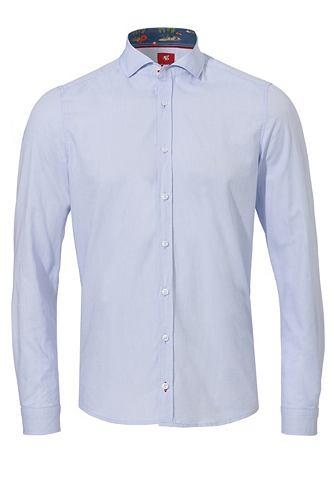 Узкий форма рубашка с versteckten Weih...