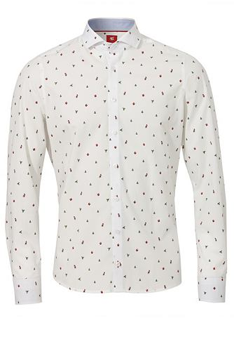 Модные узкий форма рубашка с Weihnacht...