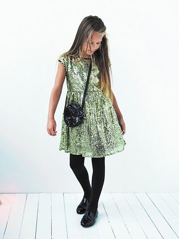 NAME IT С пайетками платье