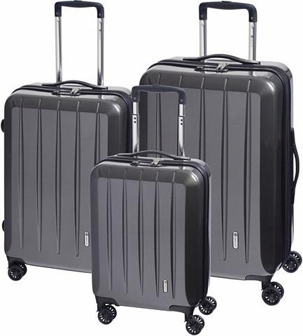 CHECK IN CHECK.IN® Пластиковый чемодан на к...