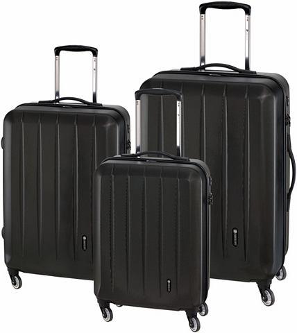 CHECK.IN® Пластиковый чемодан на к...