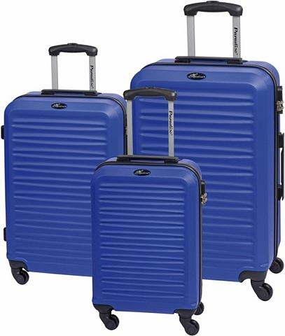 ® Пластиковый чемодан на колесах к...