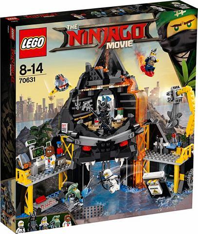 LEGO ® Garmadons Vulkanversteck (70631)...